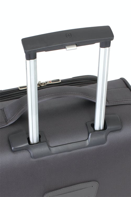 "SWISSGEAR 6270 29"" LITEWEIGHT SPINNER LUGGAGE ALUMINUM, PUSH BUTTON LOCKING TELESCOPIC HANDLE"