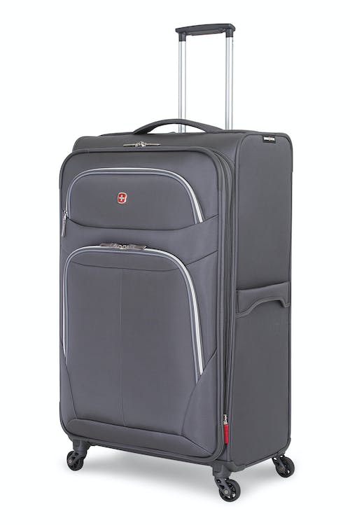 "Swissgear 6270 29"" Expandable Liteweight Spinner Luggage - Pewter"
