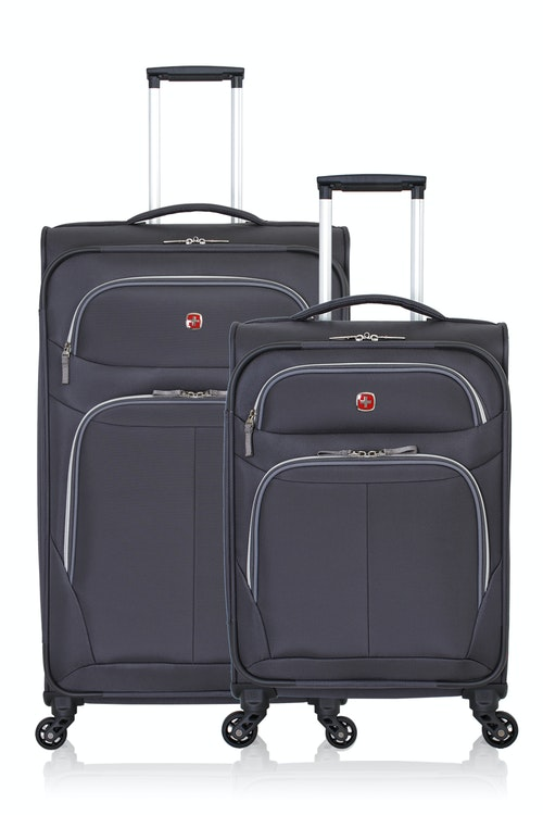 SWISSGEAR 6270 Expandable Liteweight Spinner Luggage 2pc Set