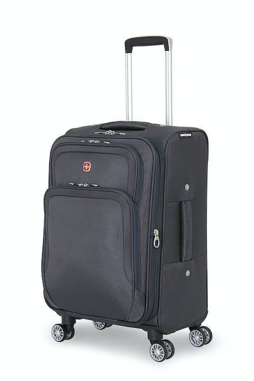 """Swissgear 6281 20"""" Expandable Deluxe Spinner Luggage - Gray"""
