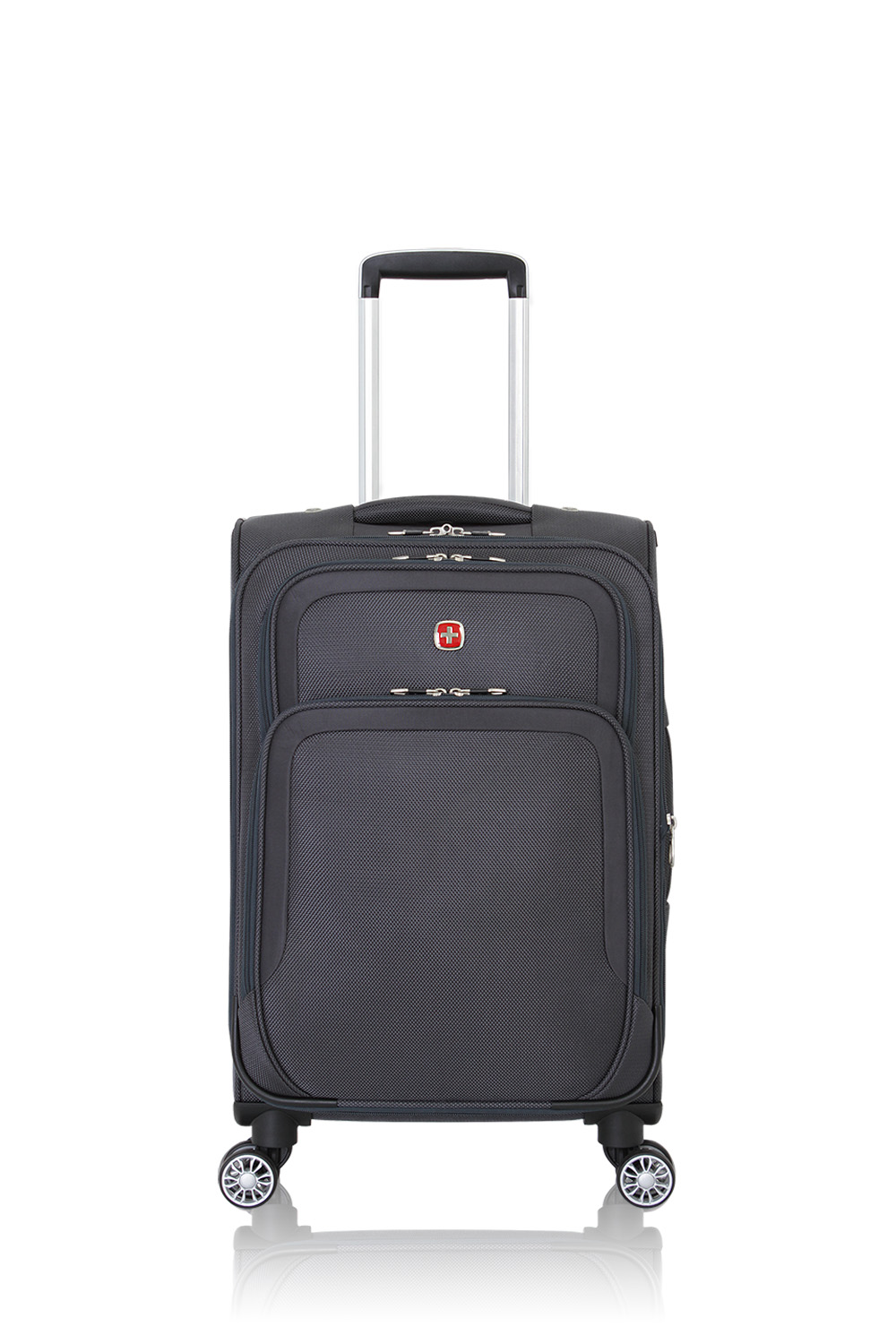 """SWISSGEAR 6281 20"""" Expandable Deluxe - Grey Luggage"""