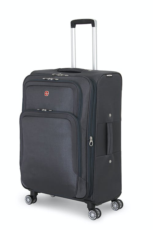 "SWISSGEAR 6281 24"" Expandable Deluxe Spinner Luggage - Gray"