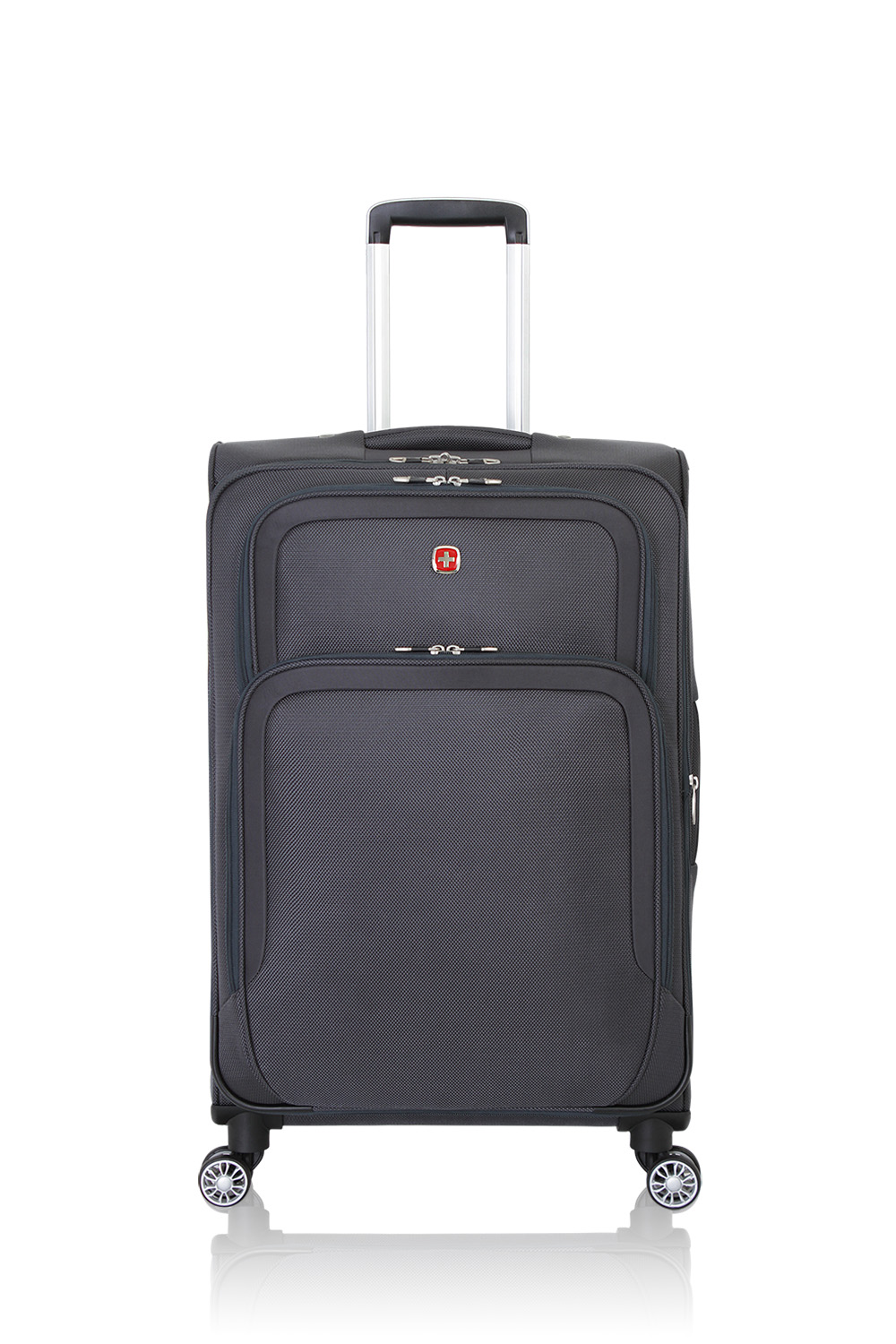 "SWISSGEAR 6281 24"" Expandable Deluxe - Grey Luggage"