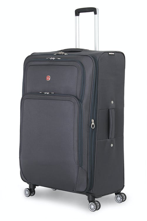 "SWISSGEAR 6281 29"" EXPANDABLE LITEWEIGHT DELUXE LUGGAGE IN GREY"