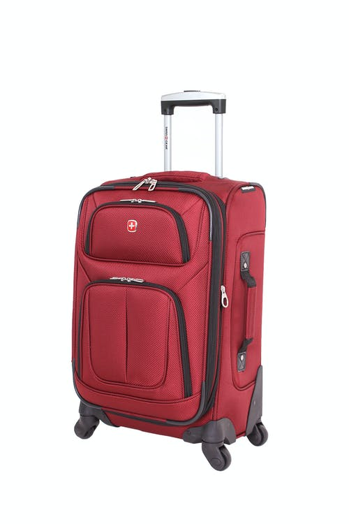 "Swissgear 6283 21"" Expandable Spinner Luggage - Burgundy"