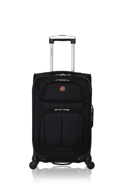 "Swissgear 6283 21"" Expandable Spinner Luggage - Black"