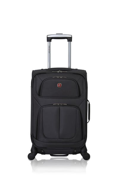 "Swissgear 6283 21"" Expandable Spinner Luggage - Dark Gray"