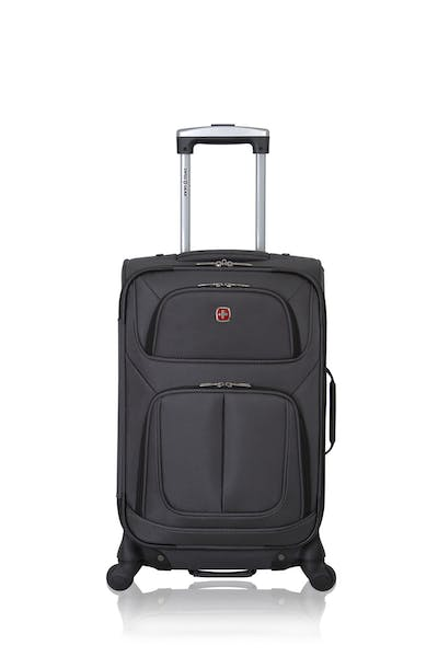 "Swissgear 6283 21"" Expandable Carry On Spinner Luggage"