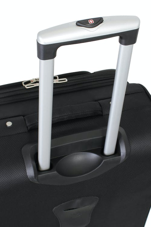 Swissgear 6283 Expandable Spinner Luggage Aluminum push-button locking telescopic handle