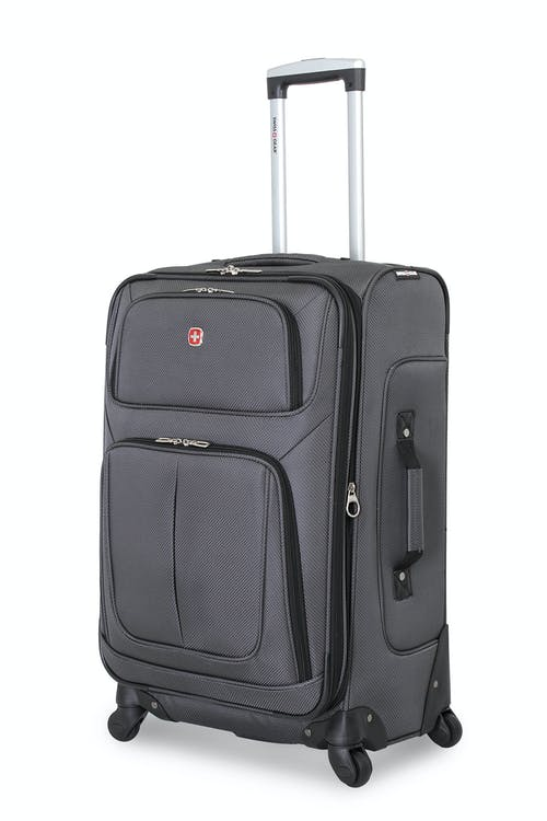 "SWISSGEAR 6283 25"" SPINNER LUGGAGE IN DARK GREY"