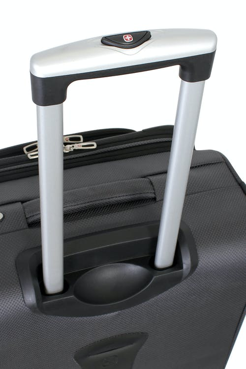 Swissgear 6283 Expandable Spinner Luggage Push-button locking telescopic handle