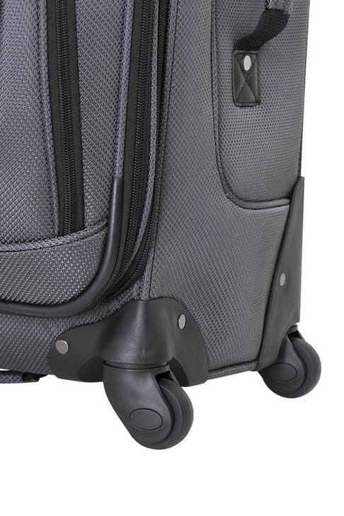 SWISSGEAR 6283 EXPANDABLE LITEWEIGHT SPINNER LUGGAGE 360 DEGREE SPINNER WHEELS