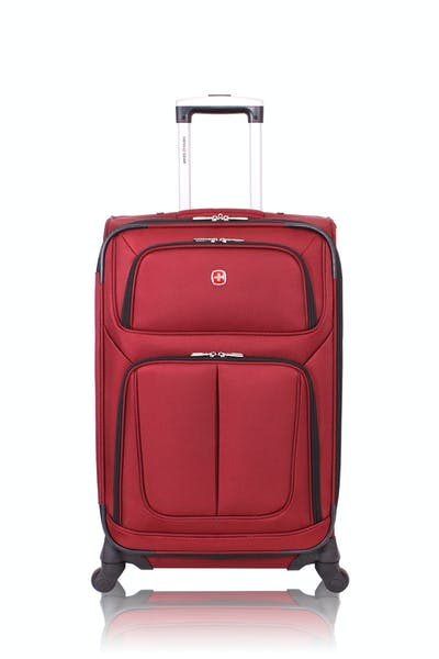 "Swissgear 6283 24.5"" Expandable Spinner Luggage - Burgundy"