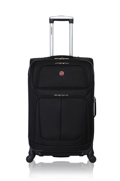"Swissgear 6283 24.5"" Expandable Spinner Luggage - Black"