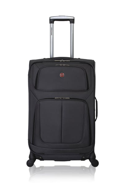 "Swissgear 6283 24.5"" Expandable Spinner Luggage - Dark Gray"