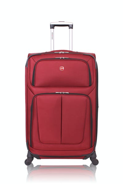 """Swissgear 6283 28"""" Expandable Spinner Luggage - Burgundy"""