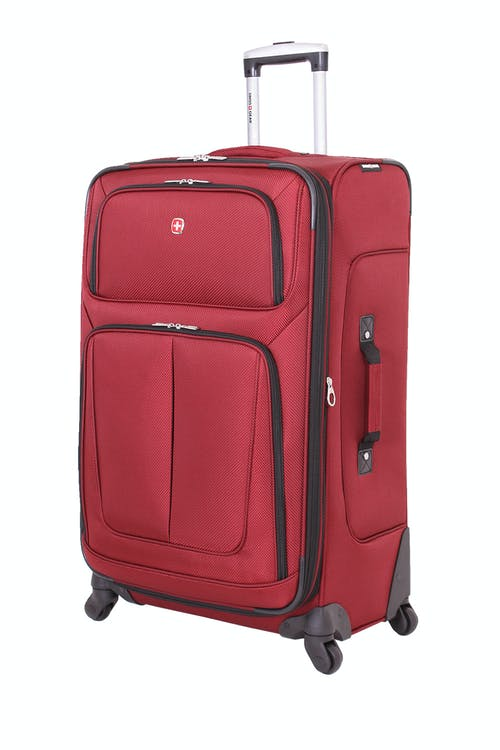 """SWISSGEAR 6283 28"""" EXPANDABLE SPINNER LUGGAGE – BURGUNDY"""