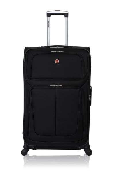 """Swissgear 6283 28"""" Expandable Spinner Luggage - Black"""