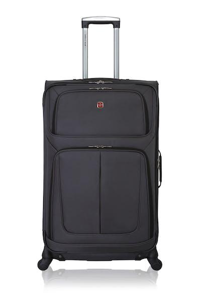 "Swissgear 6283 28"" Expandable Spinner Luggage - Dark Gray"