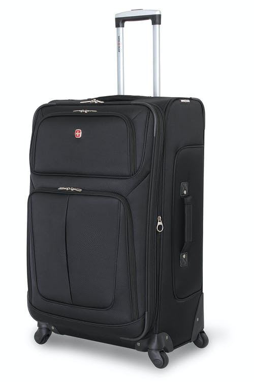 Swissgear 6283 28 Expandable Spinner Luggage Black