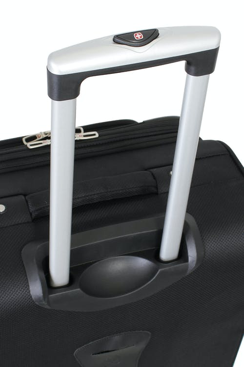 SWISSGEAR 6283 Expandable Liteweight Spinner Luggage Aluminum push-button locking telescopic handle