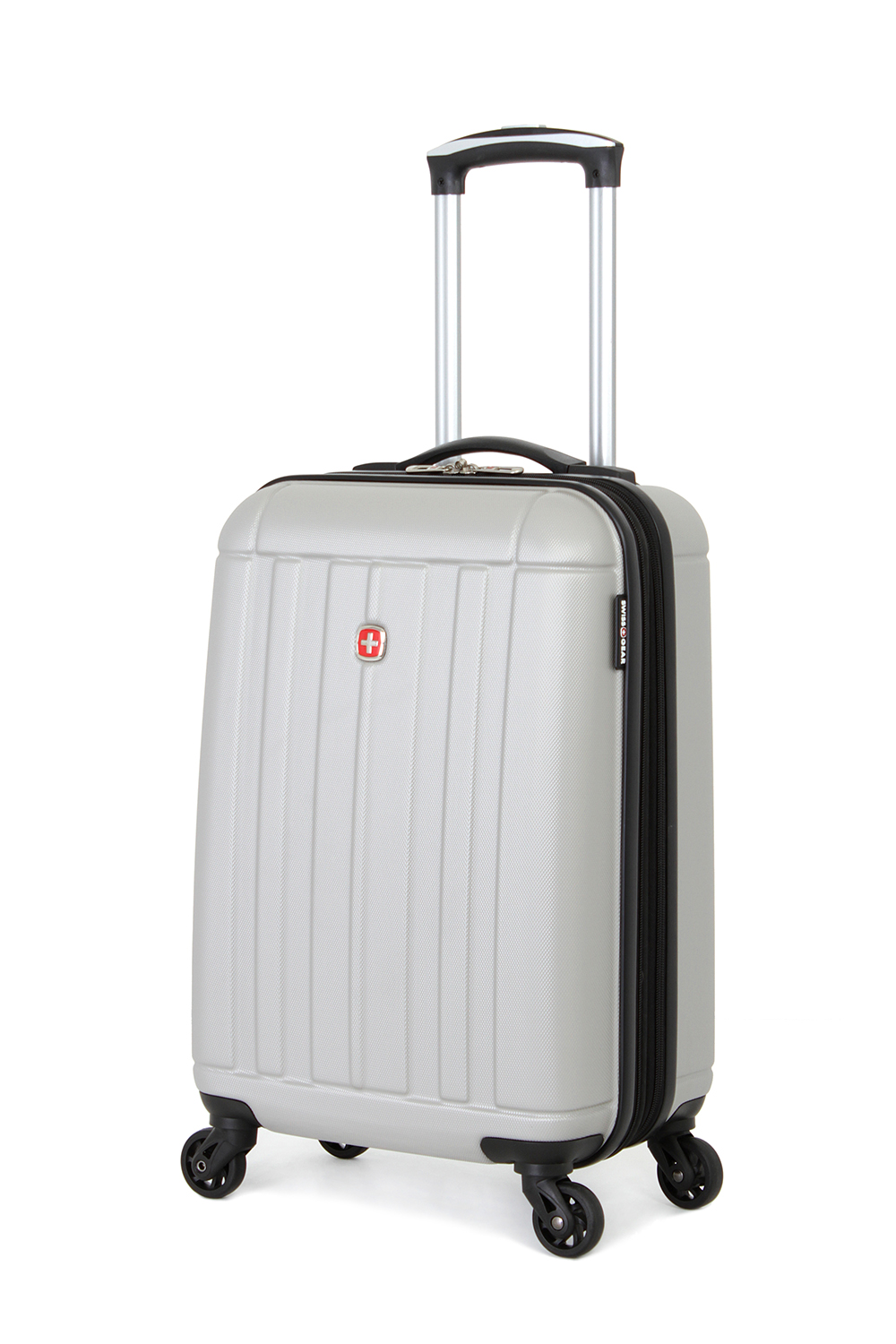 SWISSGEAR 6297 19 Expandable Hardside Spinner - Silver Luggage