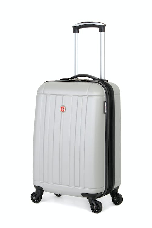"SWISSGEAR 6297 19"" SPINNER LUGGAGE in Silver"