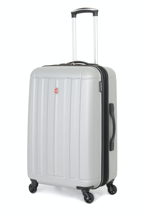 "SWISSGEAR 6297 24"" Hardside Spinner Luggage in Silver"