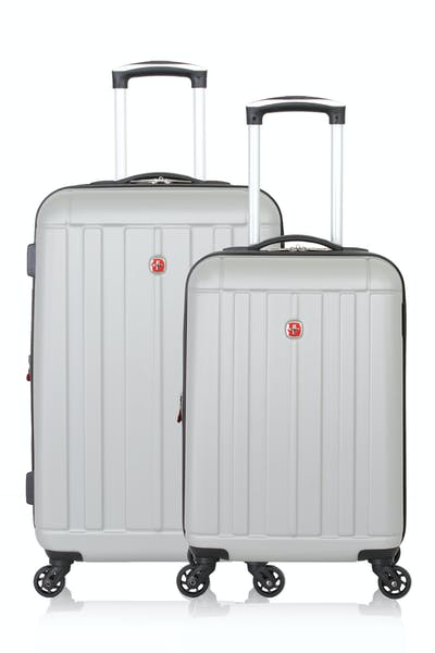 SWISSGEAR 6297 Expandable Hardside Spinner Luggage 2pc Set