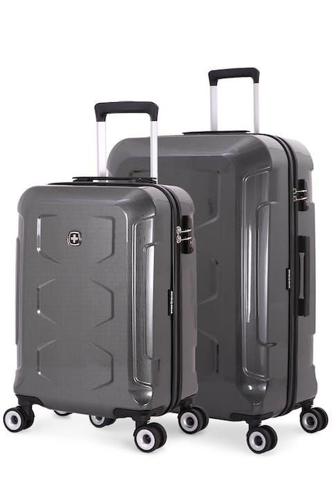 Swissgear 6572 Limited Edition Hardside Spinner Luggage 2pc Set - Black