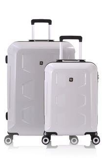 SWISSGEAR 6572 Limited Edition Hardside Spinner Luggage 2pc Set - White