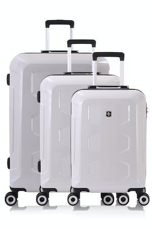 Swissgear 6572 Limited Edition 3pc Hardside Spinner Luggage Set