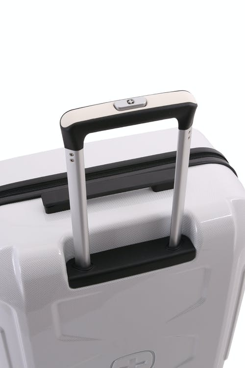 Swissgear 6572 Limited Edition Hardside Spinner Luggage Push button locking telescopic handle