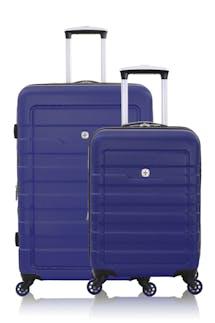 SWISSGEAR 6581 Expandable Hardside Spinner Luggage 2pc Set - Blue