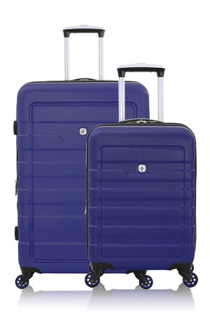 SWISSGEAR 6581 Expandable Hardside Spinner Luggage 2pc Set - Blue
