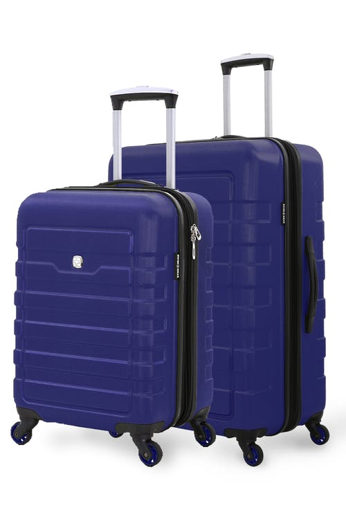 SWISSGEAR 6581 Expandable Hardside Spinner Luggage 2 Pc Set - Blue