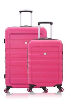 SWISSGEAR 6581 Expandable Hardside Spinner Luggage 2pc Set - Fuchsia