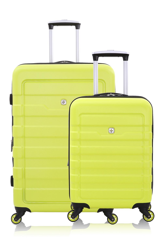 SWISSGEAR 6581 Expandable Hardside Spinner Luggage 2pc Set - Yellow