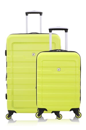 SWISSGEAR 6581 Expandable Hardside Spinner Luggage 2pc Set - Yellow