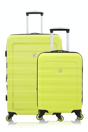 SWISSGEAR 6581 Expandable Hardside Spinner Luggage 2pc Set