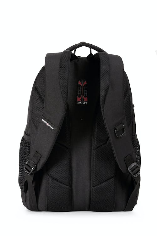 Swissgear 6601 Laptop Backpack  Padded Airflow back panel with breathable mesh lining
