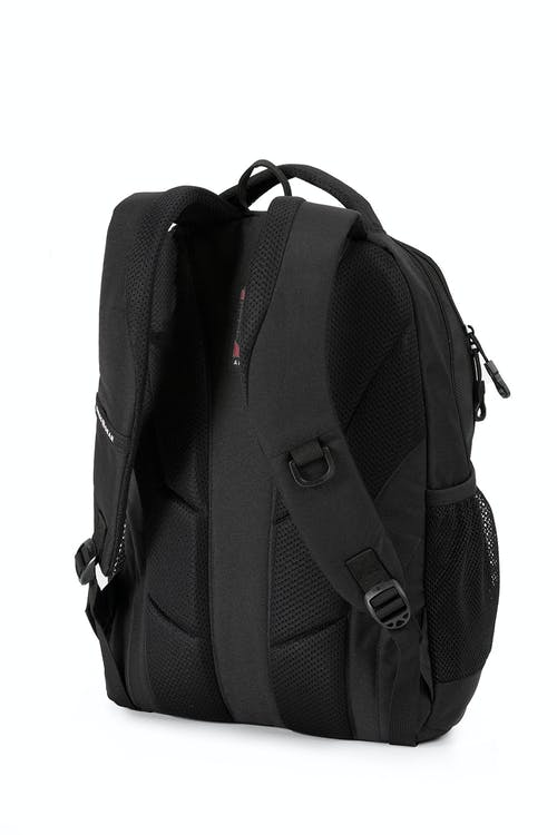 Swissgear 6601 Laptop Backpack  Ergonomic contour-padded shoulder straps with breathable mesh lining