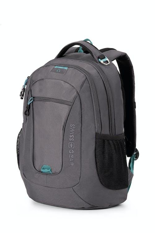 Swissgear 6601 Laptop Backpack - Slate Cement/Raffle Teal