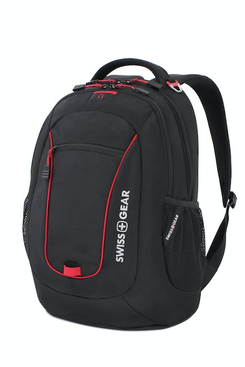 SWISSGEAR 6601 Laptop Backpack - Black/Red