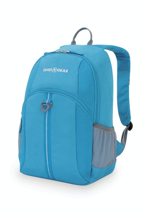 """SWISSGEAR 6607 17"""" BACKPACK – BLUE"""