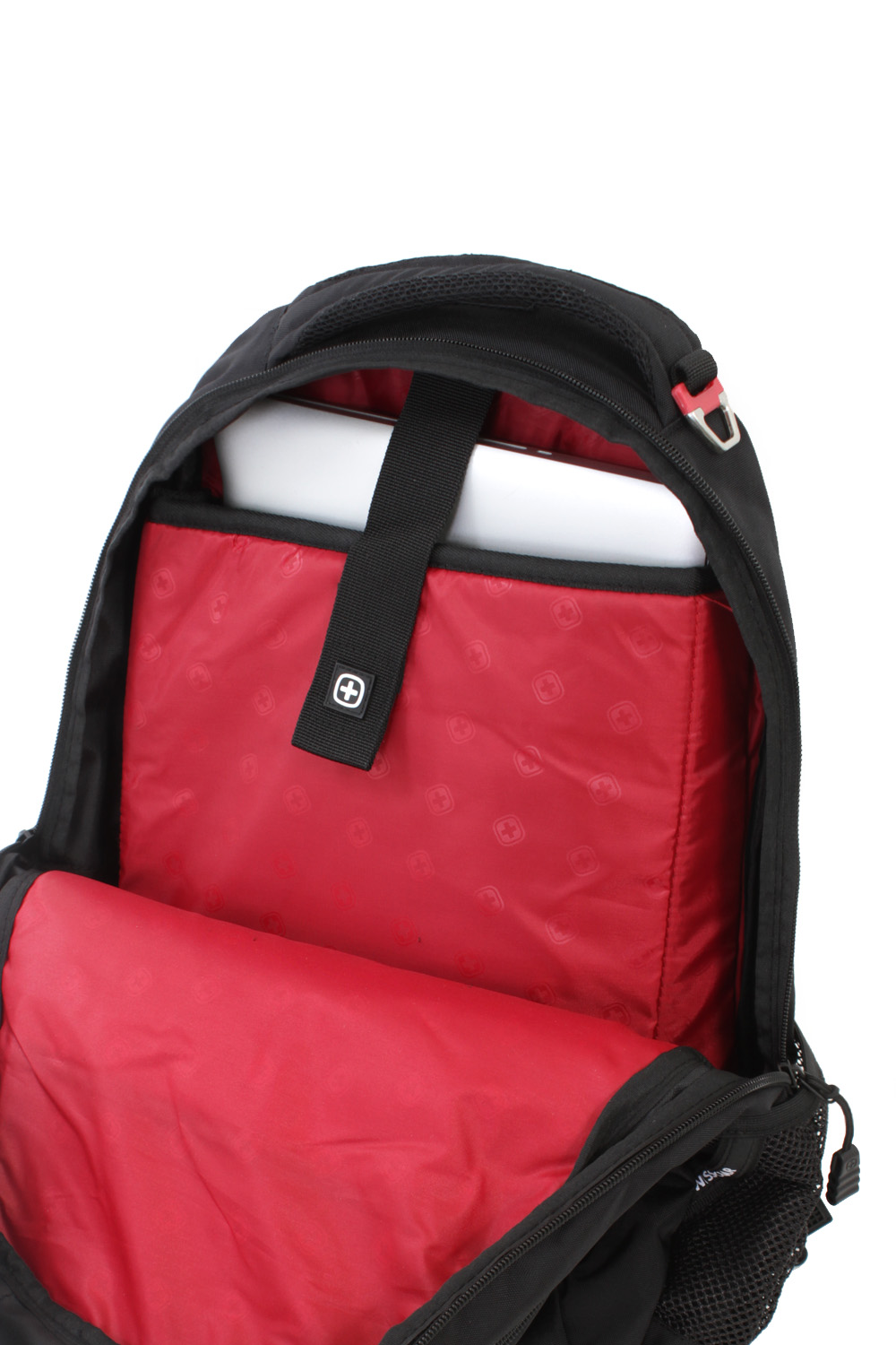 SWISSGEAR 6631 Laptop Backpack - Black/Red