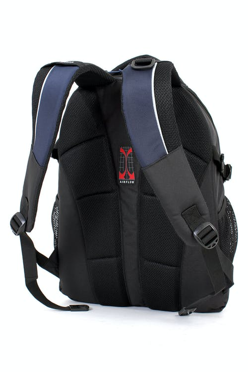 SWISSGEAR 6655 LAPTOP BACKPACK PADDED AIRFLOW BACK PANEL