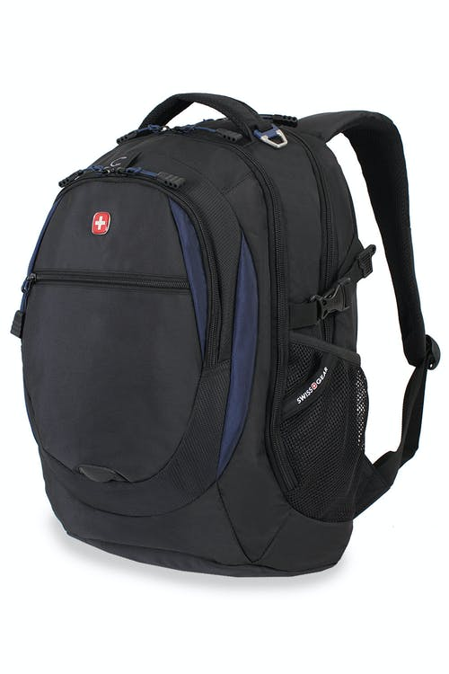 SWISSGEAR 6655 LAPTOP BACKPACK - BLACK/NAVY