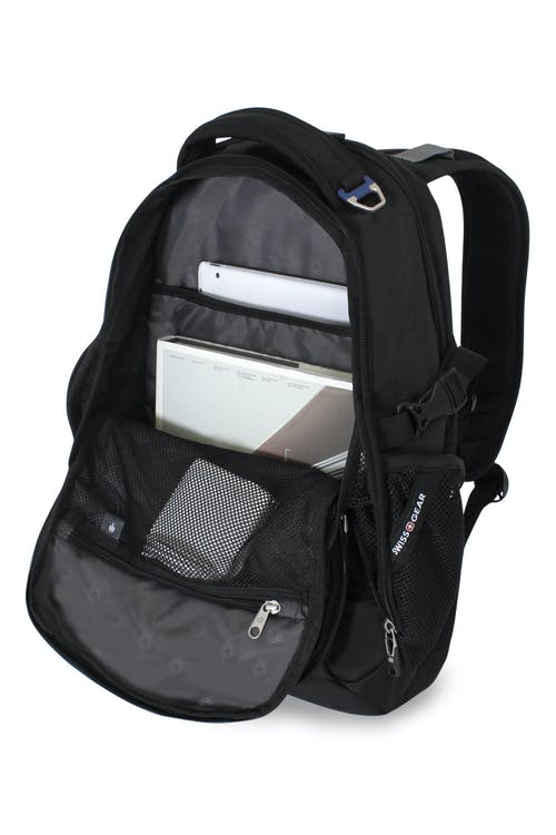 SWISSGEAR 6655 LAPTOP BACKPACK THREE COMPARTMENT BACKPACK