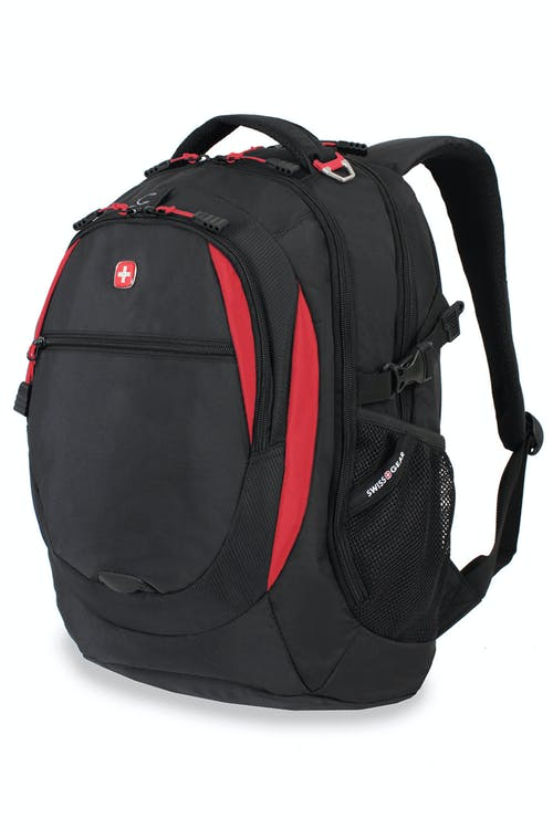 SWISSGEAR 6655 Laptop Backpack - Black/Red